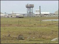 West Gerinish missile testing range on South Uist