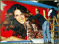 Lux advert with Sarah Jessica Parker