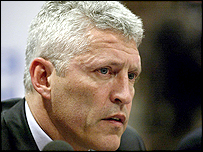 Former FA chief executive Mark Palios