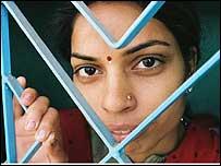 Joven infectada con VIH en India (Gentileza ONUSIDA W. Phillips)
