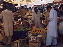Market in Pakistan