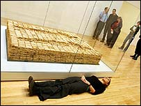 Bed by Antony Gormley