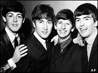 The Beatles in a 1965 file photograph