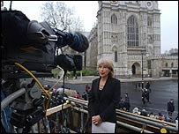 Former BBC royal correspondent Jennie Bond