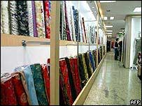 Productos textiles chinos