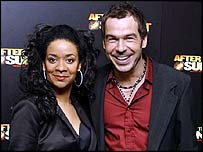 Finalists Rowetta and Steve Brookstein