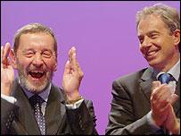 David Blunkett and Tony Blair