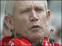 Ferrari chief designer Rory Byrne