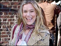Joss Stone at Band Aid recording
