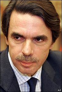 José María Aznar, ex presidente del gobierno español