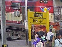 Bhopal station