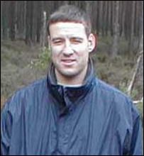 Alistair Wilson, pictured on a family outing on the day he was murdered