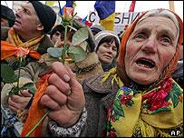 Yanukovych supporter
