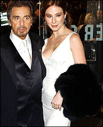 Al Pacino and Lynn Collins