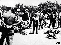 The Sharpeville massacre