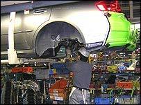 Japanese car plant