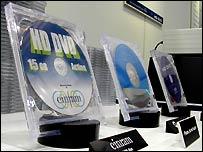 HD-DVDs