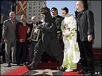 Godzilla getting Hollywood star