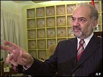 Iraqi Vice-President Ibrahim Jaafari of the Islamic Daawa party