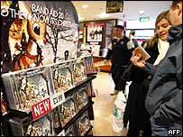 Fans buying Band Aid CD