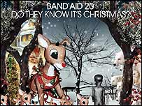 Band Aid 20 CD cover