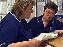 Image of NHS staff