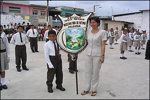 Escuela en Ecuador