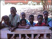 Children at Tchicolumbe school Thyolo