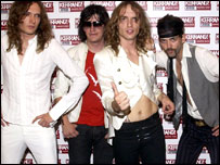 Brit band the Darkness