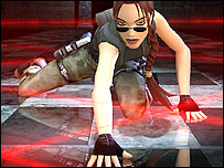 Lara Croft, the Tomb Raider heroine synonymous with PlayStation