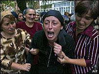 Сцена бесланской трагедии