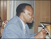 Former Fufa boss Denis Obua