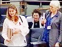 Leanne Wood and other Plaid Cymru AMs