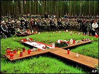 Memorial gathering in Katyn Forest