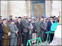 A Muslim funeral