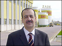 Tahir Buyukhelvacigil, head of cooking oil company Zade