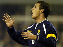 Scotland skipper Barry Ferguson