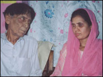 Abdul Mueen Khan and daughter, Garzala
