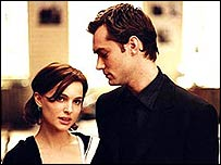 Natalie Portman and Jude Law