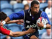 Jason Robinson in action for Sale