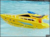 Model boat generic