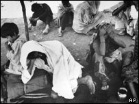 The aftermath of the Bhopal disaster in 1984