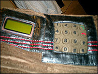Mobile phone woven into a jacket