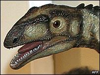 Model of Unaysaurus tolentinoi (AFP)