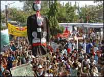 Rally in Bhopal