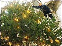 Tate Christmas tree