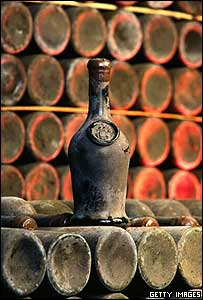 Vintage wine from Tsar Nicholas II's Crimean cellar