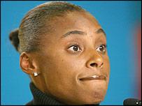 Banned American sprinter Kelli White
