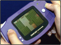Hand-held games console