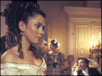 Anna Friel in the BBC adaptation of Dickens' Our Mutual Friend